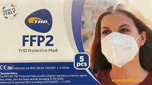 THD PROTECTIVE MASK FFP2  5PZ