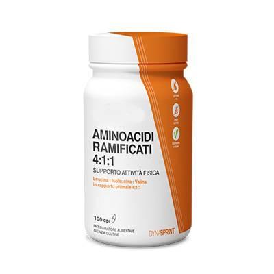 LFP Aminoacidi ramificati 4:1:1 supporto attività fisica
