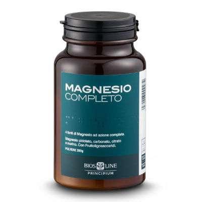 BIOSLINE linea PRINCIPIUM Magnesio Completo polvere da g 200