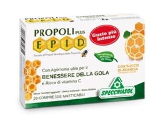 PROPOLI PLUS EPID ARANCIA 20 COMPRESSE SPECCHIASOL