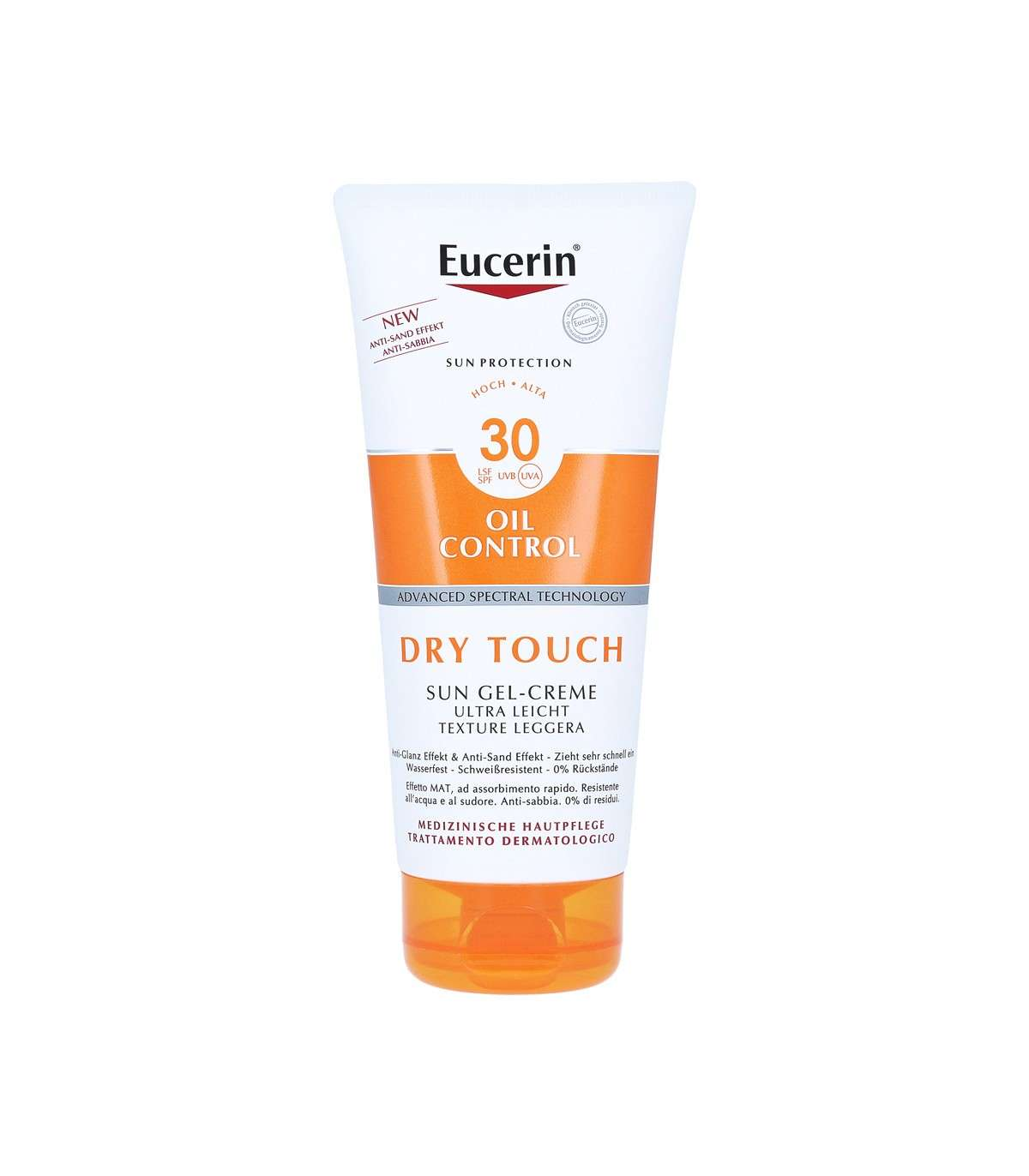 EUCERIN SUN GEL-CREMA DRY TOUCH SPF30 200ML