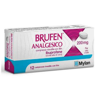 BRUFEN ANALGESICO 400MG 12CPR