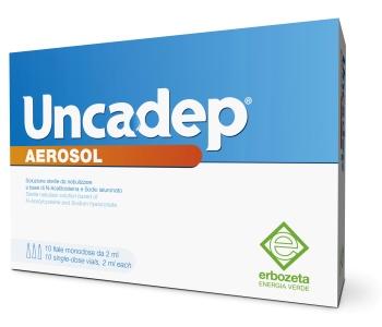 UNCADEP AEROSOL 10F 2ML