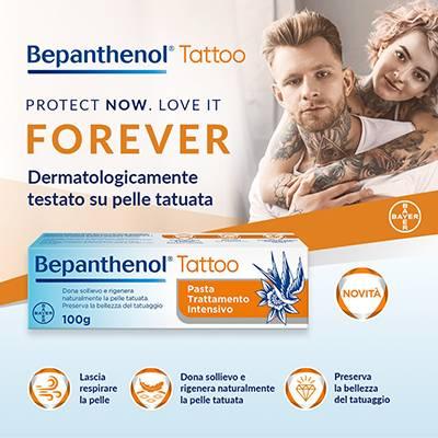 Bepanthenol tattoo pasta