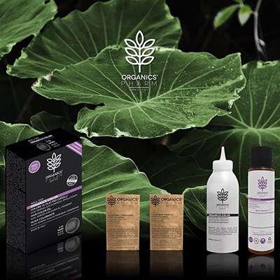 Organics Pharm linea per capelli