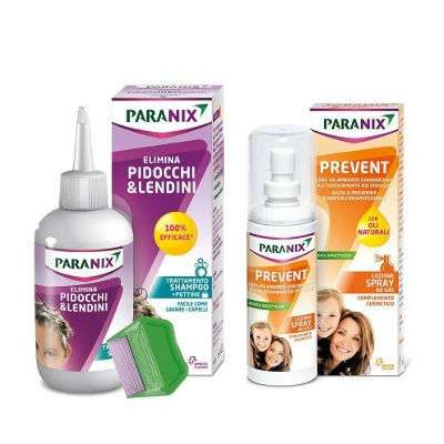 Paranix shampoo + pettine / Prevent