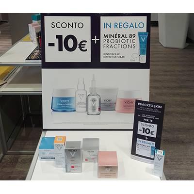 Vichy promozione creme viso SCONTO 10€ sull'acquisto di 1 prodotto
