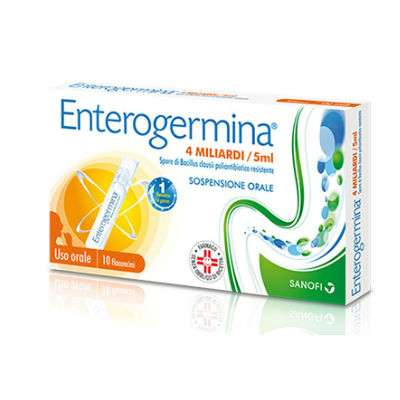 Enterogermina 4 mld 10 flaconcini