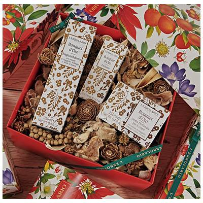L'Erbolario Bouquet d'Oro cofanetto