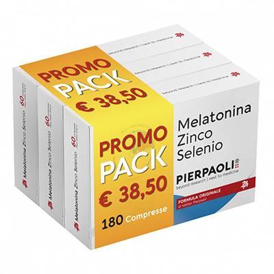 Melatonina zinco selenio Pierpaoli PROMOZIONE