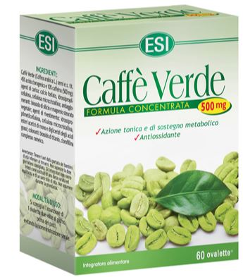 ESI CAFFE' VERDE 500MG 60OVAL