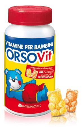 ORSOVIT CARAM GOMM S/GLUT 60PZ con l'acquisto di due confezioni la tazza magica in omaggio