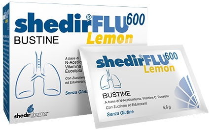 SHEDIRFLU 600 LEMON 20BUST