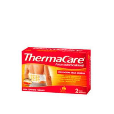 ThermaCare schiena 2 fasce monouso