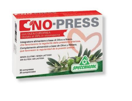 NO PRESS INTEGRATORE PRESSIONE ARTERIOSA 30 COMPRESSE SPECCHIASOL