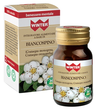 BIANCOSPINO INTEGRATORE RELAX BIO 30 CAPSULE VEGETALI WINTER