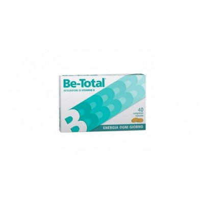 BE-TOTAL WHITE 40CPR