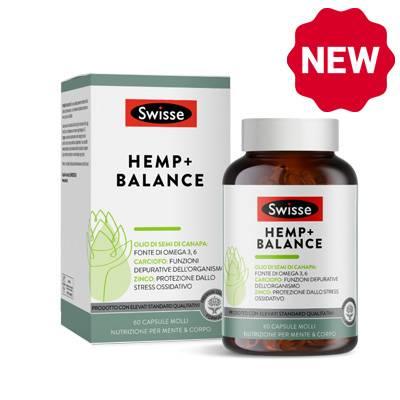 Swisse Hemp+balance NOVITA'
