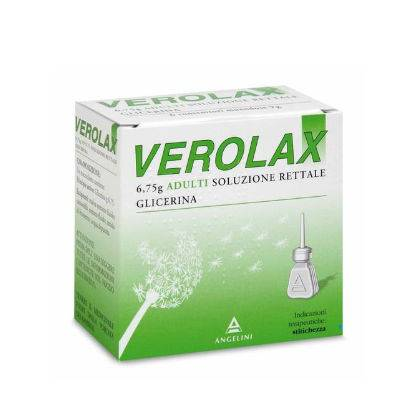 VEROLAX 6 MICROCLISMI/18 SUPPOSTE ADULTI