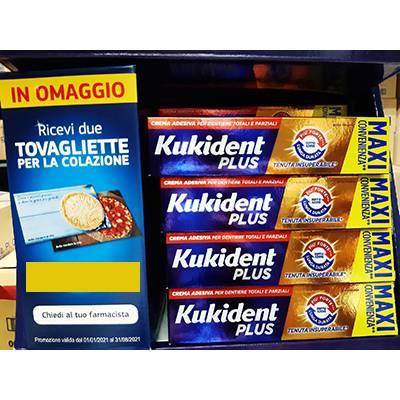Tovaglietta colazione OMAGGIO acquistando di 1 prodotto Kukiden