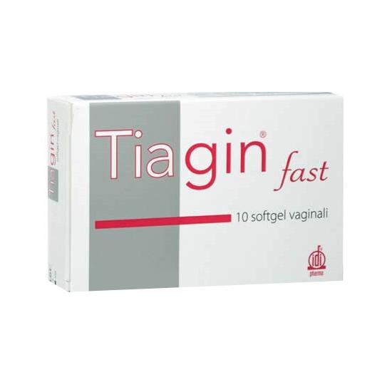 TIAGIN FAST 10SOFTGEL VAGINALI