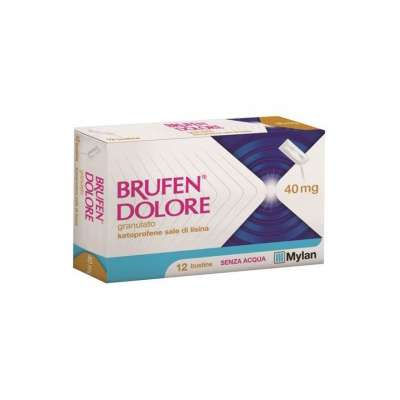 BRUFEN DOLORE 40MG 12BST