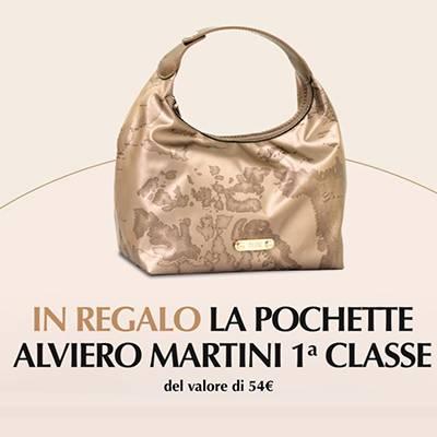 Free age pochette Alviero Martini OMAGGIO