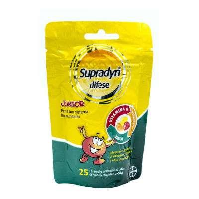 Supradyn difese Junior 25 caramelle gommose 4 anni +
