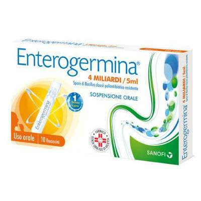 Enterogermica 4 miliardi /5ml 10fl
