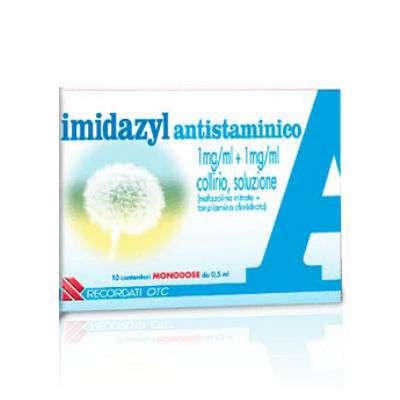 IMIDAZYL ANTISTAMINICO 10 CONTENITORI MONODOSE