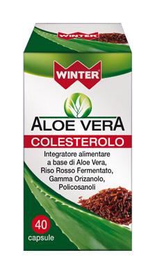 ALOE VERA INTEGRATORE COLESTEROLO 40 CAPSULE WINTER