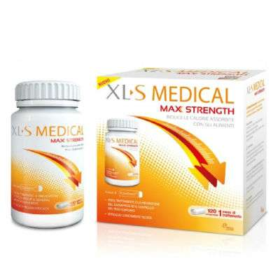 XLS MEDICAL MAX STRENGHT 120 CPR
