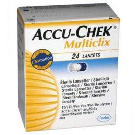 ACCU-CHEK MULTICLIX 24LANC