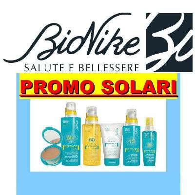 Bionike solari SCONTO 30%