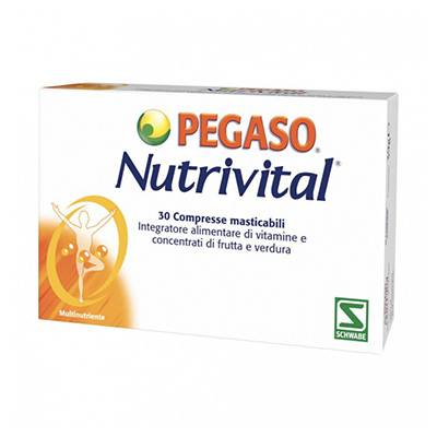 Pegaso Nutrivital 30 cpr mast.
