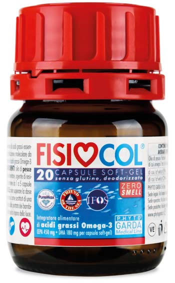FISIOCOL OMEGA 3 20CPS