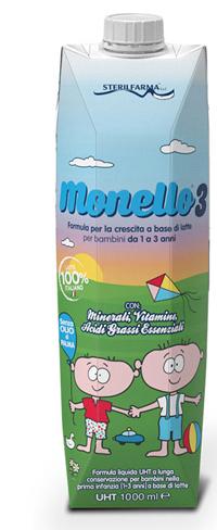 MONELLO 3 1/3ANNI LIQUIDO 1L