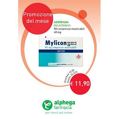 MYLICONGAS 40mg - 50cpr masticabili