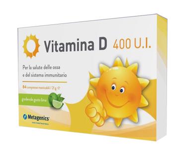VITAMINA D 400 UI 84CPR