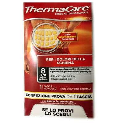 Thermacare confezione prova 1 fascia schiena