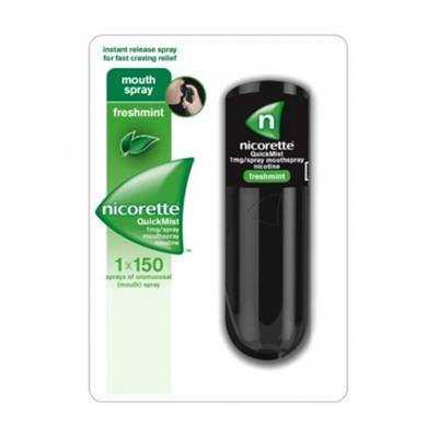 Nicorettequick*spray 1fl 150d