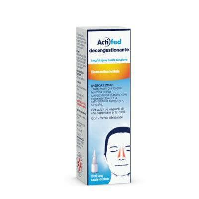 Actifed decong. spray nasale 10ml