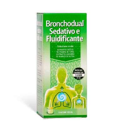 Bronchodual sedativo e fluidificante 120ml