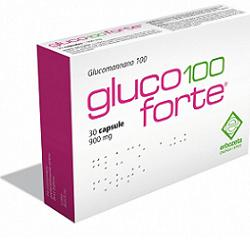 GLUCO 100 FORTE 30CPS
