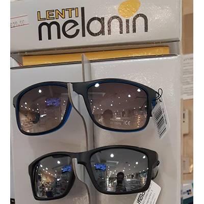 Melanini occhiali uomo e unisex