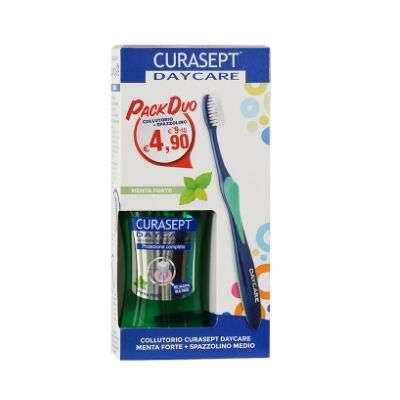 Curasept  Daycare collutorio + spazzolino omaggio
