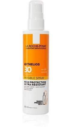 LA ROCHE-POSAY ANTHELIOS SHAKA SPRAY INVISIBILE PROTEZIONE SPF30 200ML