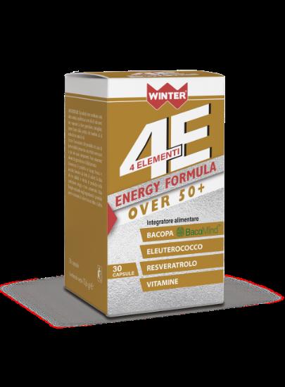 ENERGY FORTE FORMULA OVER50+ 4ELEMENTI 30 CAPSULE WINTER