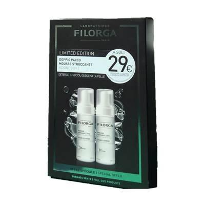 FILORGA DETERSIONE limited edition DOPPIO PACCO MOUSSE STRUCCANTE azione 3 in 1