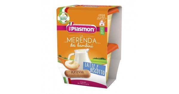 PLASMON LATTE BISC AS 2X120G